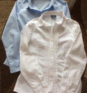 Рубашка  Gulliver школьная для девочки