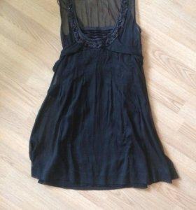 Черное платье Befree