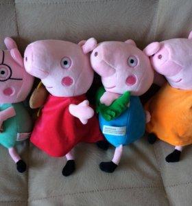 Свинка пеппа семья свинок