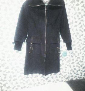 Пальто под замшу