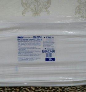 Подгузники для взрослых seni (4) 30шт