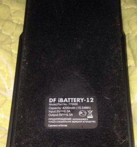 Чехол зарядник на айфон 5s