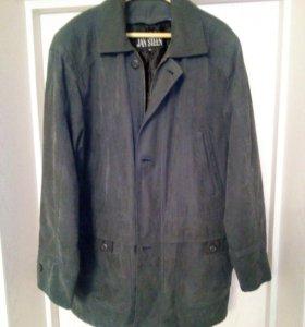 Куртка под замш классика 50-52р.