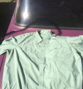 Армейские рубашки и галстуки