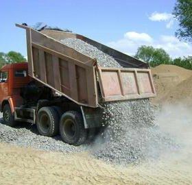 Чернозем, навоз, песок, щебень, гравий, пгс