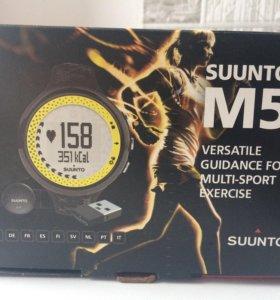 Suunto M5 women black/lime black/silver