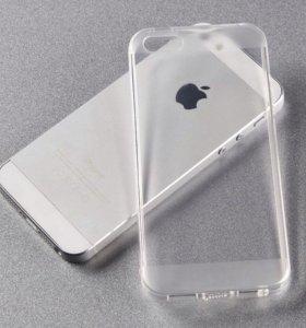 Чехол Силиконовый iPhone 5 5S 5C