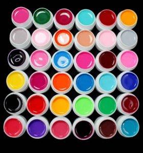 Наборы гелей для наращивания гель краски