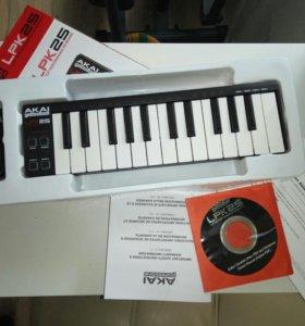 Akai professional LPK25 laptop performance keyboar