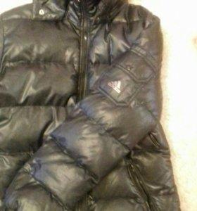Куртка адидас оригинал 44-46 больше на 44