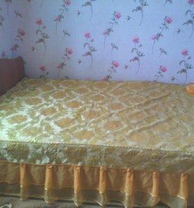2х спальная кровать.