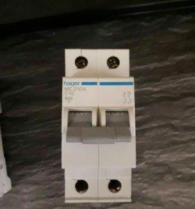 Автоматические выключатели Hager MC 2××