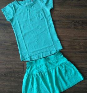 Новые футболка и юбка (Германия)