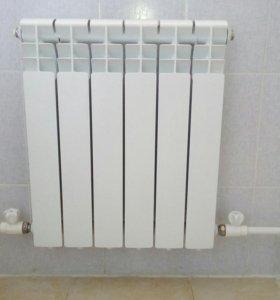 Монтаж систем отопления ( биометал, полипропелен)