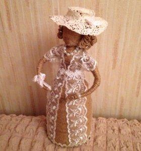 Кукла из шпагата