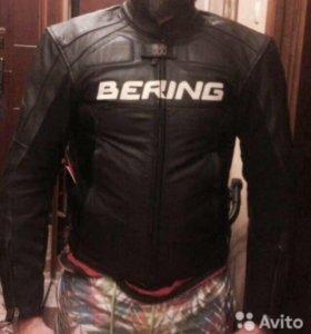 Мото куртка Bering + перчатки в подарок