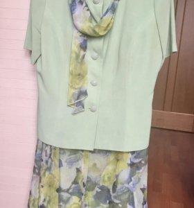 Женский костюм летний р. 48-50