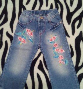 Красивые джинсы на 2-3 года 👖👍