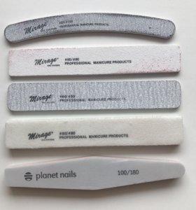 Пилки для ногтей бафики для маникюра