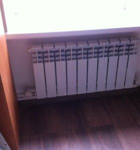 Радиаторы отопления, монтаж.