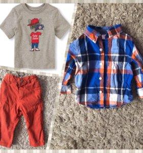 Рубашка Gymboree,штаны и футболка children's