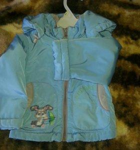 Куртка демисезон 80 размер