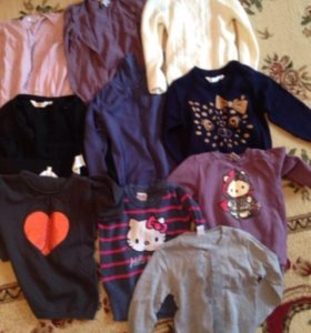 Кофты,джемпера,свитера для девочки