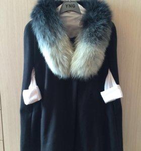 Пальто кашемир (новое)