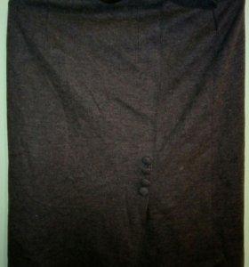 Женская юбка с подкладкой