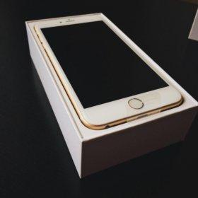 Новый iPhone 6s Plus gold