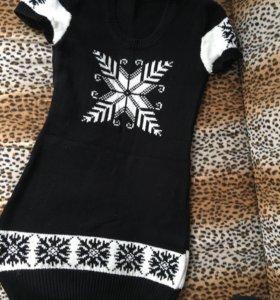 Вязаное платье из Турции