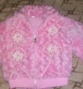 Курточка для девочки новая на 1,5-2 года