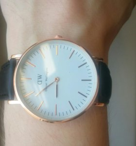Часы Daniel Wellington Sheffield Gold