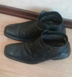 Мужские ботинки RALF зимние размер 45