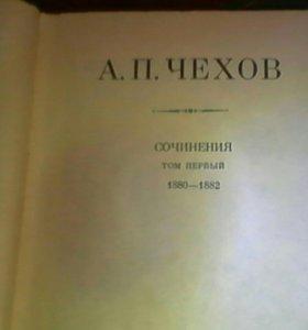 8 томов книг сочинений Чехова