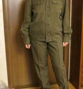 Костюм военный 46-48 разм (шерсть)