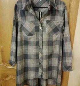 Рубашка- туника 52-54