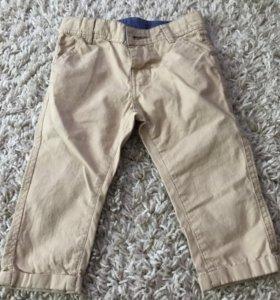 Модные брюки на малыша 68 см