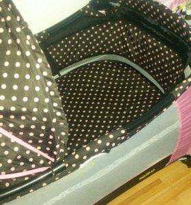 Манеж - кровать 2 положения
