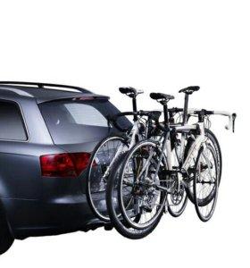 Багажник для 3 велосипедов на фаркоп - Thule 972