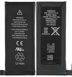 Батарея на айфон 4 китай