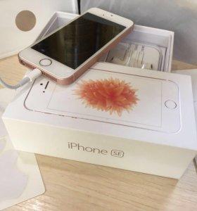 Продам свой iPhone SE Rose Gold 16 Gb