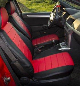 Чехлы Opel Astra G/H/J/ GTC ЭкоКожа