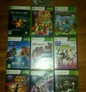 Xbox 360+10 игр