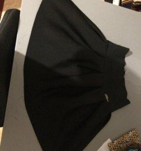 Школьная чёрная юбка