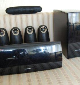 Домашний кинотеатр 5.1 Samsung HT-XA 100 (600Вт)
