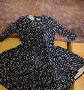 Коротенькое Платье.на худенькую девочку