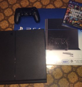Sony Playstation 4 500GB, GTA5