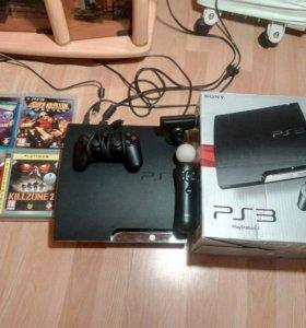 PlayStation 3, геймпад, кинект, игры коробка