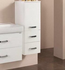 Шкаф для ванной полуколонна подвесной Акватон